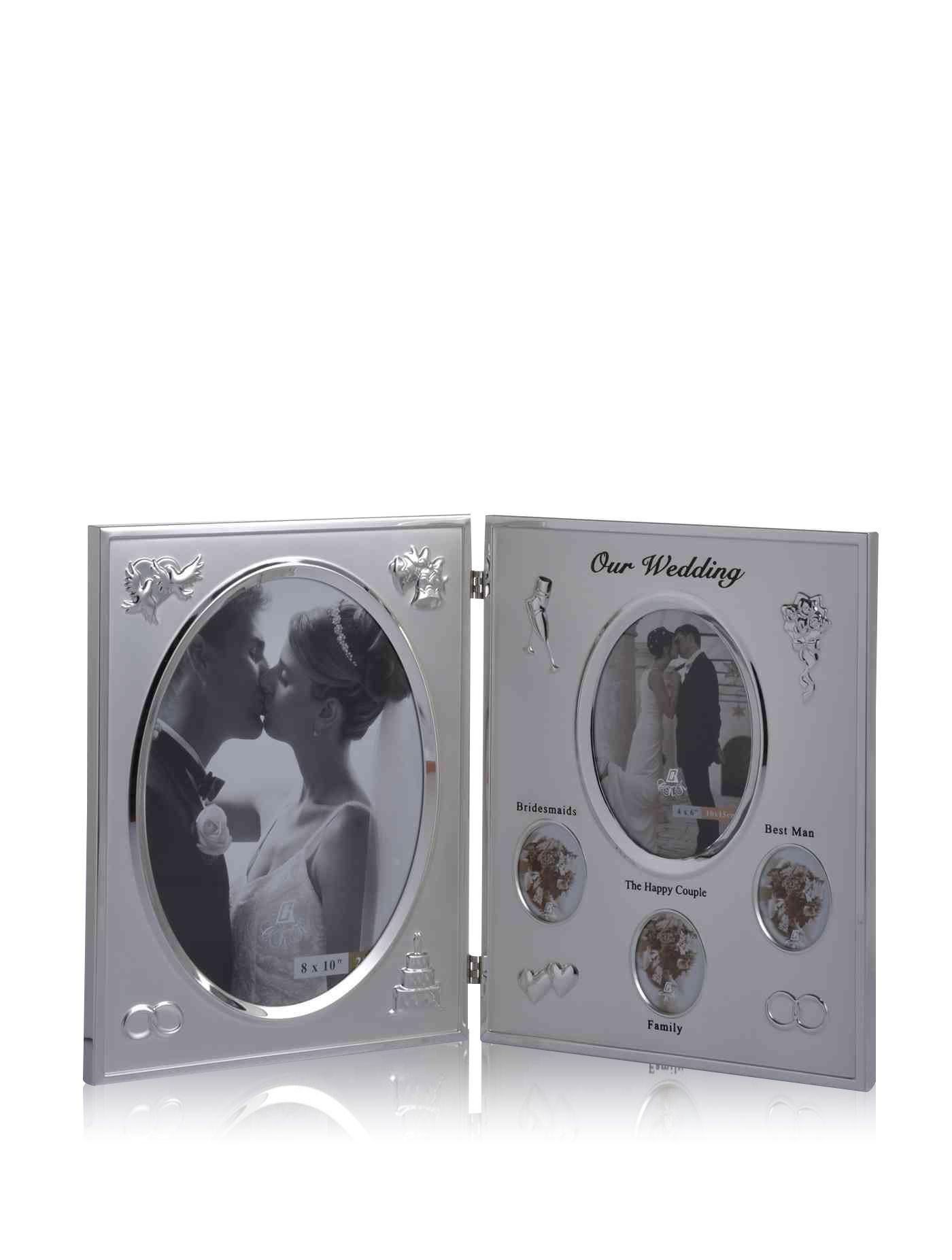 Ckk Our Wedding Double Picture Frames B204x5qcrc Robinson Online Shopping